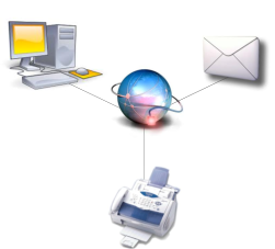 How email fax works